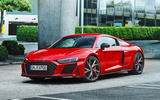 91 Audi R8 Performance RWD 2021 official images coupe static front