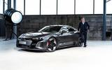 91 Audi RS E tron GT 2021 official reveal Duesmann studio