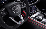 Audi RS Q8 2020 official reveal photos - steering wheel