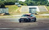 91 Audi RS3 2021 prototype ride drift