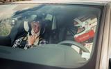 Audi RS Q8 2020 camo ride - windscreen