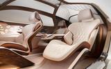Bentley EXP 100 GT Concept official images - passenger seat
