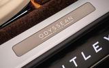 91 Bentley Flying Spur Odyssean Edition official kickplates