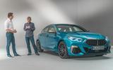 BMW 2 Series Gran Coupé studio reveal - interview