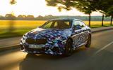 BMW 2 Series Gran Coupé prototype drive - sunset front