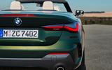 2021 BMW 4 Series Convertible official images - rear lights