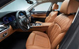 2019 BMW 7 Series official reveal - cabin
