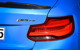 BMW CS 2020 official press images - rear lights