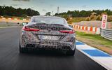 2019 BMW M8 prototype ride - track exhausts