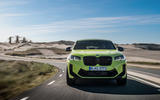 91 BMW X4 M 2021 LCI official images tracking nose