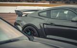 91 Camaro ZL1 vs Sutton Mustang 2021 Mustang spoiler