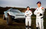 91 Extreme E abt feature Claudia Hurtgen and Mattias Ekstrom