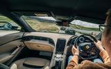 91 Ferrari Roma triple test 2021 MS driving