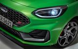 91 Ford Fiesta 2021 refresh ST front bumper