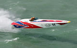 91 how to commentate Ben Edwards powerboat