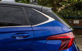 Hyundai i20 2020 prototype drive - rear end