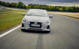 2021 Hyundai i20 N prototype drive - on track nose