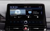 Hyundai Ioniq 2019 facelift official press - infotainment