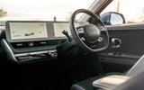 91 Hyundai Ioniq 5 proto drive 2021 dashboard