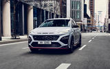 91 Hyundai Kona N official images road nose