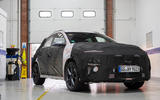 91 Hyundai Kona N prototype drive static