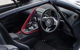 Jaguar F-Type rally car 2019 driven dashboard