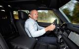 Jaguar Land Rover Cross Country - Mike Cross driving