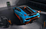 Lamborghini Huracan STO 2020 official images - static rear