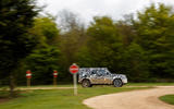 2020 Land Rover Defender prototype ride - on the road side