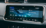 Land Rover Range Rover Evoque 2019 first ride review - infotainment
