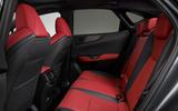 91 Lexus NX 450h+ 2021 official reveal rear seats