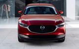 Mazda CX-30 2019 Geneva motor show reveal - nose