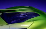91 McLaren Artura 2021 Autocar images engine cover