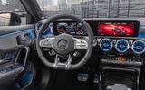 Mercedes-AMG A35 Saloon 2019 official reveal - steering wheel