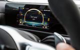 Mercedes-AMG A45 2019 prototype ride - instruments drift mode