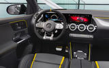 Mercedes-AMG GLA 45 S 2020 official press images - dashboard