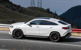 Mercedes-AMG GLE 53 prototype ride - on the road side