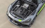Mercedes-AMG GT R Pro 2018 LA motor show reveal - engine
