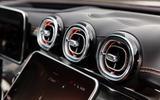 91 Mercedes Benz C Class 2021 official images air vents