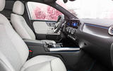 91 Mercedes Benz EQA official images cabin