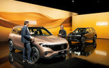 91 Mercedes Benz EQB 2021 official images interview