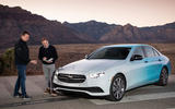 Mercedes-Benz E-Class 2020 prototype ride - Greg Kable talking
