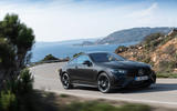 Mercedes-Benz E-Class coupe 2020 facelift - official images - on the road