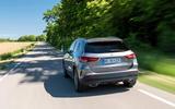 Mercedes-Benz GLA 250e 2020 prototype drive - tracking rear