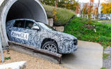 Mercedes-Benz GLA prototype ride 2019 - tunnel exit