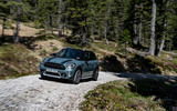 Mini Countryman 2020 facelift - official press images - cornering