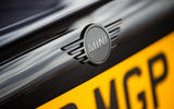 2020 Mini JCW GP first ride - rear badge