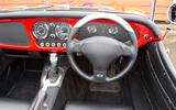 Morgan Plus 8 road test rewind - dashboard