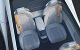Polestar Precept concept official images - rear seats