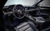 2019 Porsche 911 official reveal - press still cabin